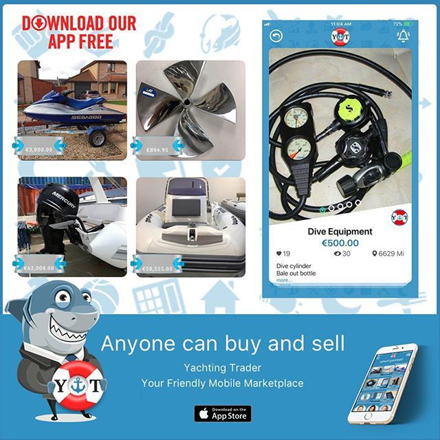 Try Yachting Trader App today! It is the new FREE marketplace for Yachties to Buy Sell and Trader your new or used yachting equipment.    Download now!    https://itunes.apple.com/us/app/yachting-trader/id1084164793?mt=8    #yacht #yachting #yachtlife #sailing #sailinglife #sail #ocean #boat #yachtworld #yachtingmagazine #travel #sailboat #yachtingtrader #ahoy #boatlife #beachlife #adventure #yachtinglife #yachtinglifestyle #luxury #luxurylifestyle #refit #megayacht #sailor #yachtracing
