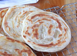 My Kitchen Snippets: Roti Canai/Paratha Bread - Step by Step