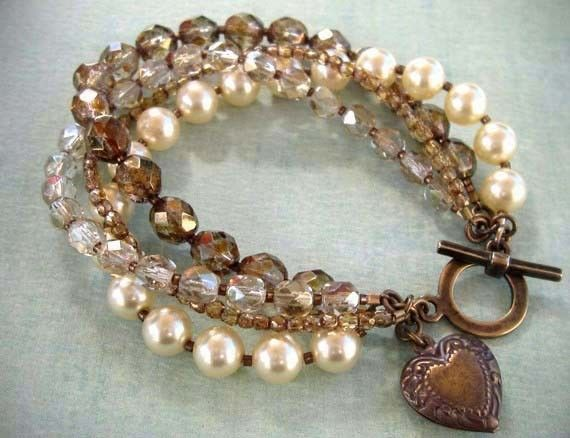 Pearls and mixed beads