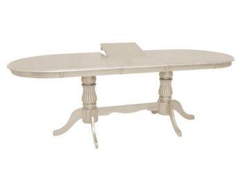 Стол обеденный раскладной Анжелика 2м кремовый цвет бесплатно доставка + подарок инфракрасный керамический обогреватель