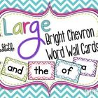 This+download+is+for+100+plus+Large+Bright+Chevron+Word+Wall+Word+Cards.++There+are+four+cards+to+a+page.++The+100+sight+words+are+taken+from+the+m...
