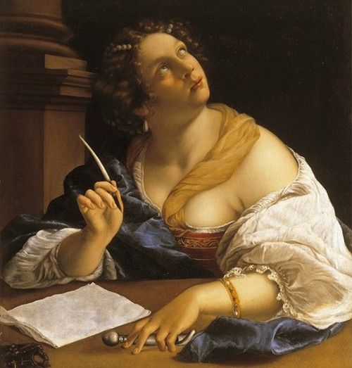 Artemisia Gentileschi (1593-c.1656, Italian) one of the first female painters.