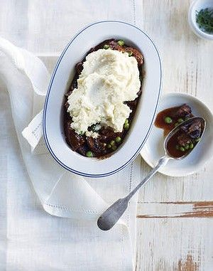 Michelle Bridges - Slow-cooked beef stew with celeriac mash.
