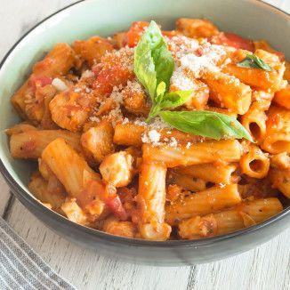 One Pot Pasta: Lachs & Spinat