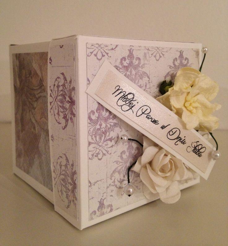 exploding box #slub #wedding #scrapbooking #ślub
