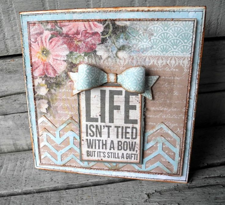 Sizzix Card Making Ideas Part - 21: Crafting Ideas From Sizzix UK: Pia Baunsgaard