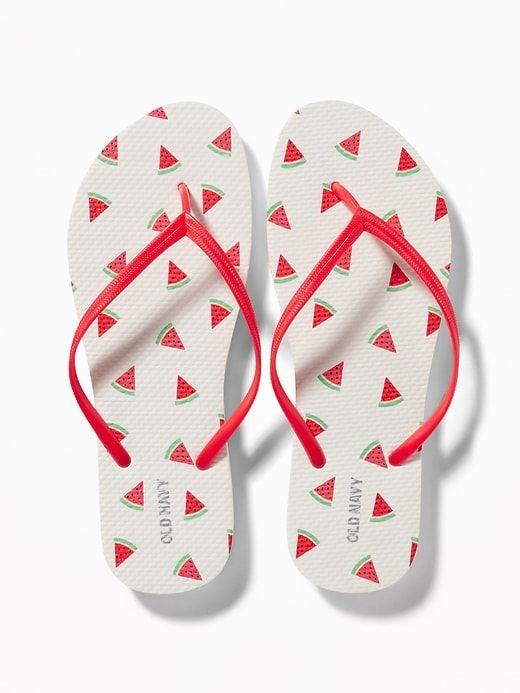 3ada2526709da Patterned Flip-Flops for Women