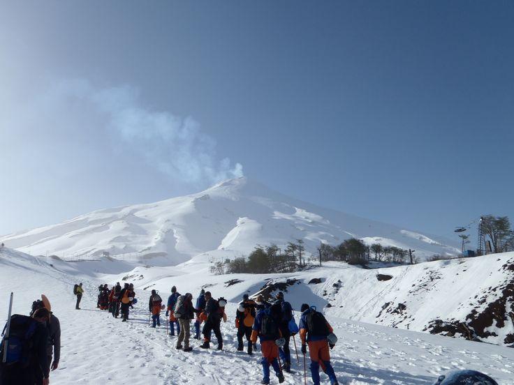 Villarrica Chile | Trekking at Villarrica Volcano-Chile