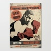VINTAGE BOXING POSTER / MIKE TYSON / Stretched Canvas by Frankie White | Society6Stretch Canvas