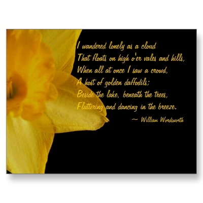 william wordsworths daffodils and negative romanticism Poem hunter all poems of by william wordsworth poems 386 poems of william wordsworth human relations and romanticism (daffodils) i wandered lonely as.