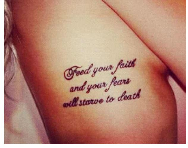Quotes On Ribs Tattoos: Quotes On Rib Cage. QuotesGram