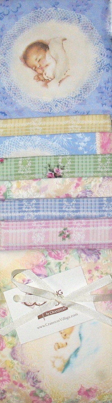 Bessie Pease Gutmann Victorian Fabric Baby Nursery by NsewFabrics, $19.99