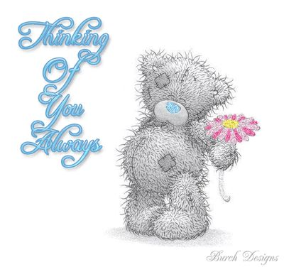 Thinking of You Always love cute friendship bear missing you friend thinking of you greeting