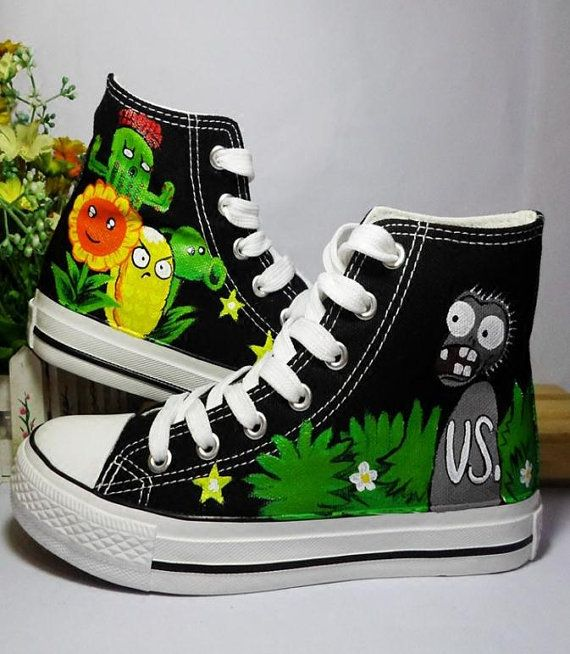 Handbemalte Schuhe/Sneakers/Canvas Schuh/Custom von junlijunli