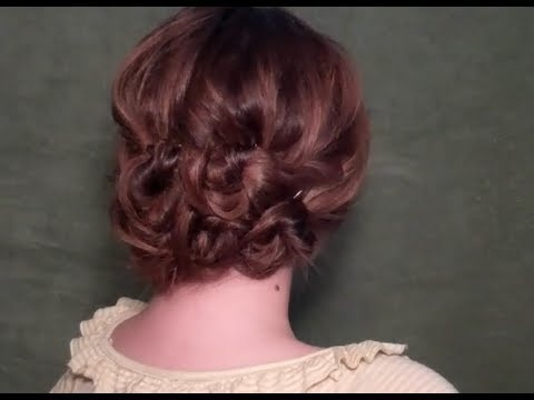 Vintage Bohemian Updo the Quick and Easy Way! - Click image to find more hot Pinterest videos