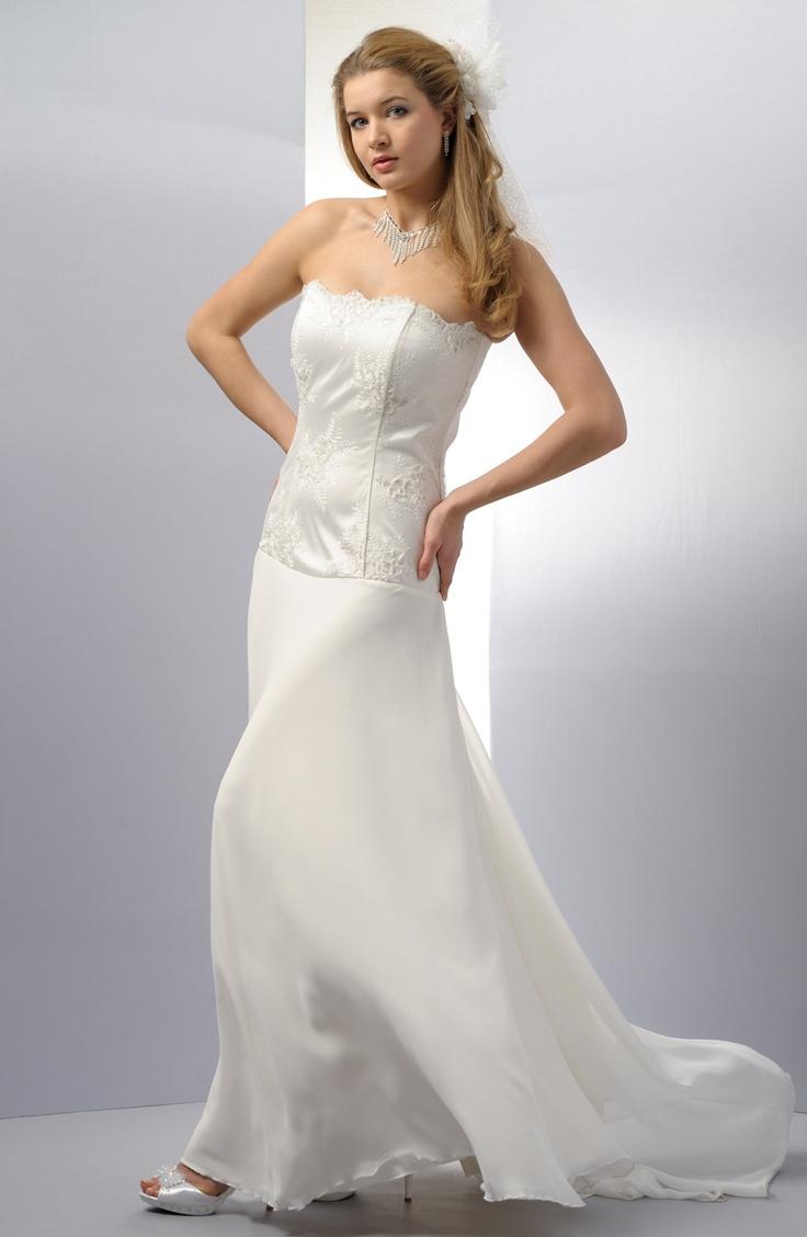 Svatební korzetové šaty s kolovou sukní | Verino