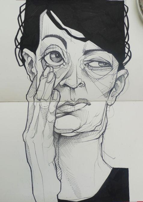 Sketch by Tattoo Artist Lea Nahon