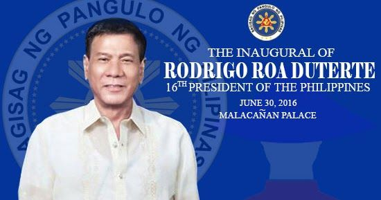 The new historical event of the year is yet to happen on Thursday, June 30, 2016 where the incoming President of the Philippines will take his oath as the 16th President of the country in his inauguration ceremony inside the Rizal Hall in Malacanang Palace. Rodrigo Roa Duterte known as 'tough-talking' leader is the next President of the Philippines.
