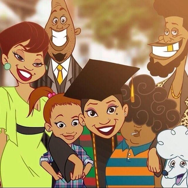Proud family Graduation! Penny proud.