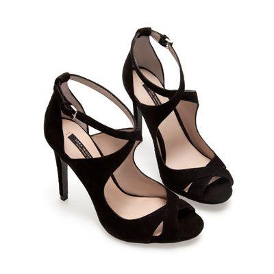 Zara : sandales avec lanières
