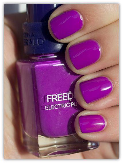 electric purple nail polish - photo #11