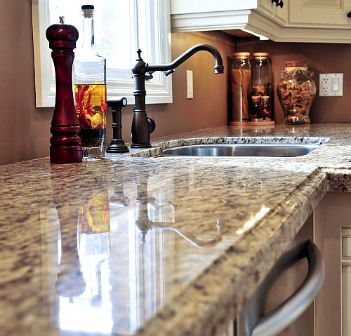 Kitchen Countertops Austin Tx: Nice Picture Of Granite Countertop With An Ogee Edge