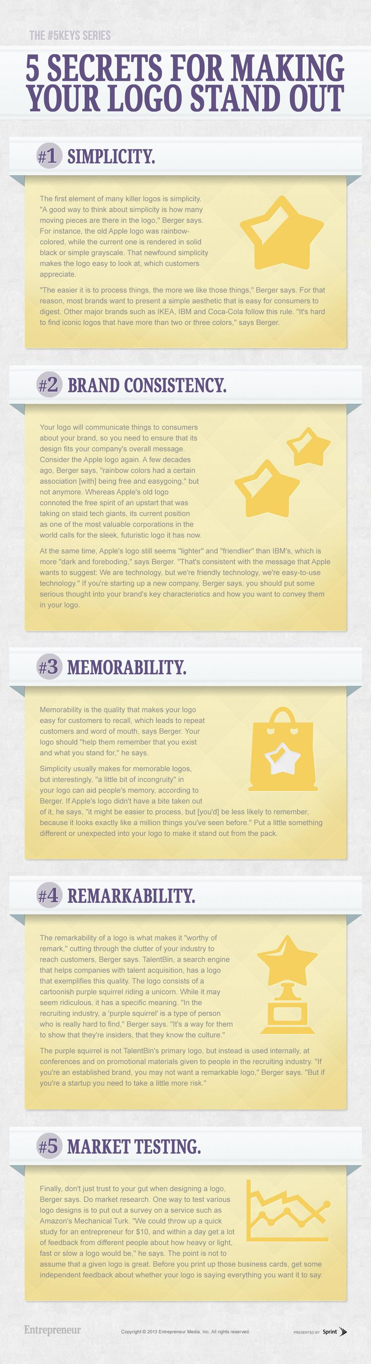 5 Secrets for Making Your Logo Stand Out #Infographic