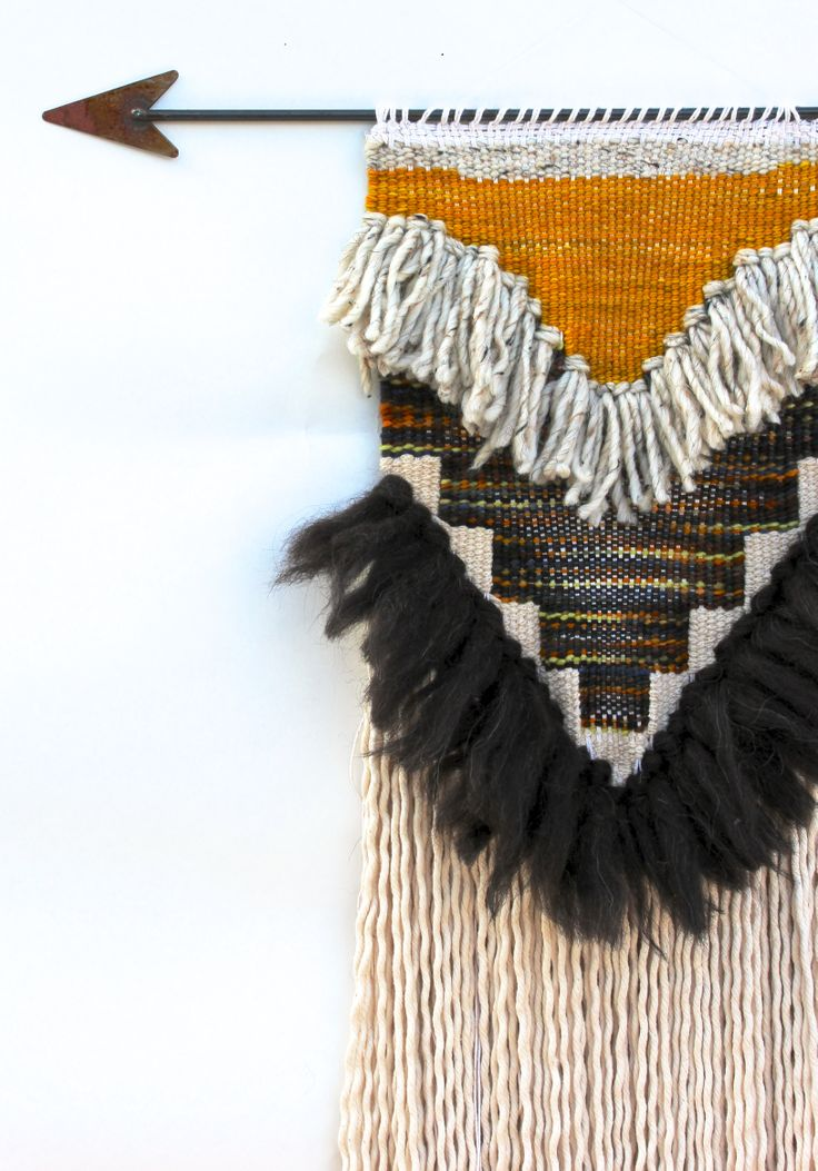 Harvest Trading Post weaving by All Roads. Available via etsy.