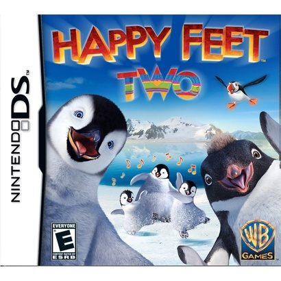 nintendo ds games happy feet two