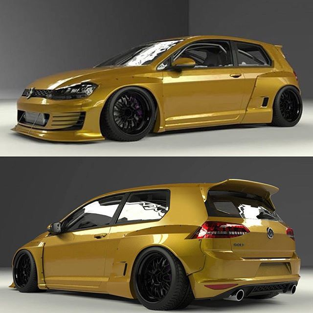 Rocket Bunny Volkswagen Golf