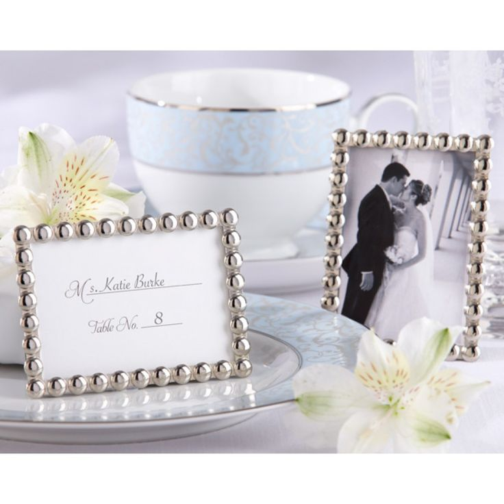 Mini Silver Frames Make Great Favors For Your 25th Anniversary Party