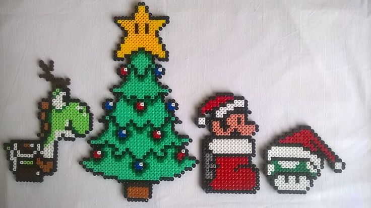 Super Mario goes Christmas