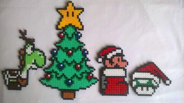 Super Mario goes Christmas