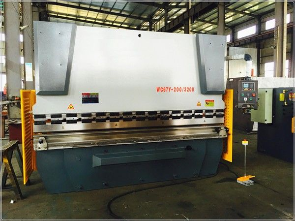 Stainless steel sheet bending machine from Chinese factory supply  sales01@baiwei.com