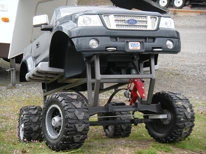 monster 4x4 power wheels