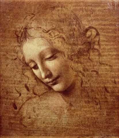 La Scapigliata by Da Vinci: Young Women, Lascapigliata, Leonardo Da Vinci, Artist, Female Head, The Scapigliata, Painting, Leonardodavinci, Drawing