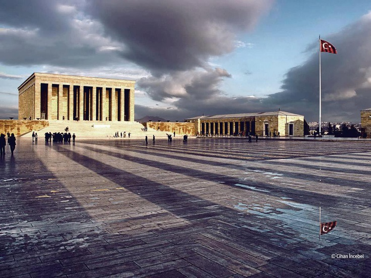Anıtkabir (Mausoleum of Mustafa Kemal Atatürk), Ankara by Cihan İncebel