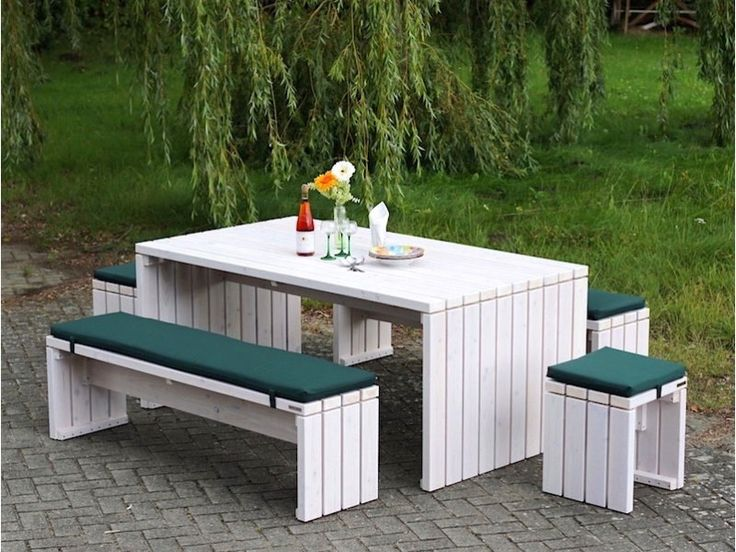 14 best Gartenmöbel Set 3 - heimisches Holz - Made in Germany images ...