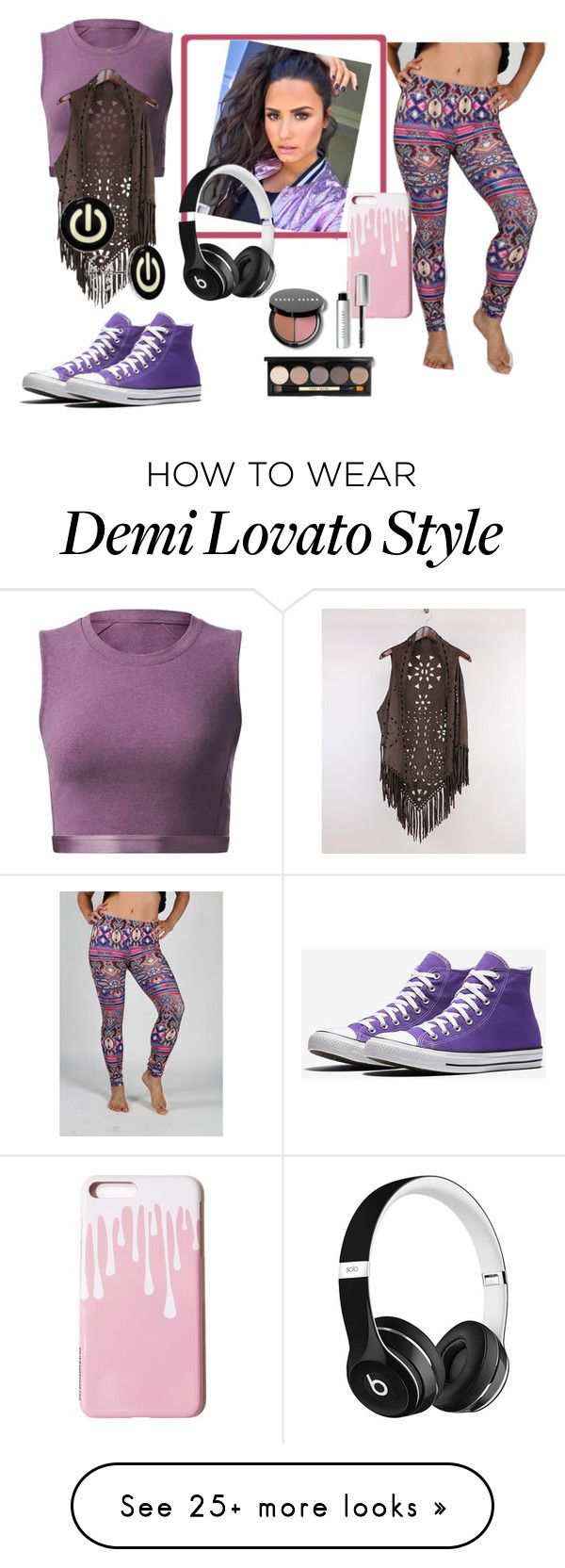 """Active Wear"" by onetribeapparel on Polyvore featuring lululemon, RQ, Beats by Dr. Dre and Bobbi Brown Cosmetics"