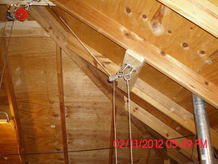 Superb Attic Hoist #7 Attic Lift Pulley Design