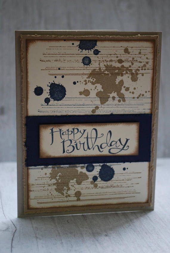 Birthday Card Stampin Up...