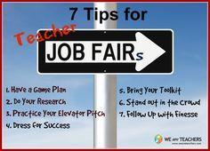 Teacher Job Fair Tips from We Are Teachers