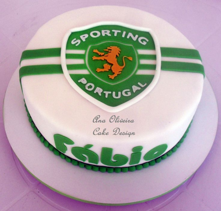 Cake Design Em Lisboa : 17 Best images about #sporting on Pinterest Football ...