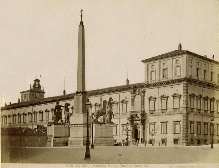 Fratelli D'Alessandri - n. 268 - Roma - Palazzo Reale (Monte Cavallo)