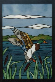 stained glass duck - Google Search