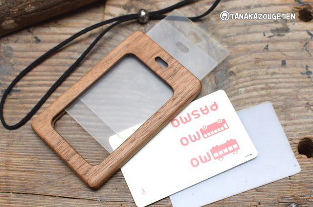 a8167f3d3 木製パスケース【両面アクリル透明】パスカード2枚!! | Products I Love | パス ケース、ケース、アクリル