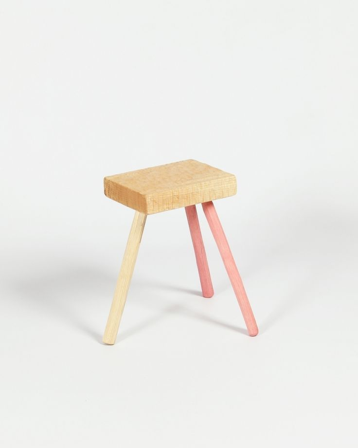Three leg stool | seating | chair | Irish Craft | Colour | Shop | Design and Craft | Gifts | Makers&Brothers | Makers & Brothers | Children's Room | Interiors | Wooden Stool