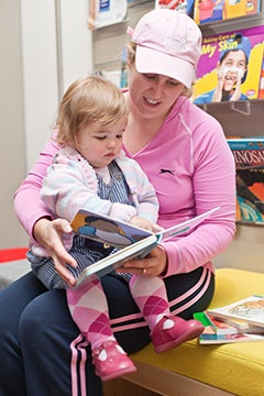 Try Giggle & Wiggle at ACT Libraries for 0-2 year olds
