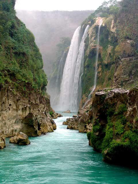Cascada Tamul Huasteca Potosina, México Been there! absolutely breathtaking!