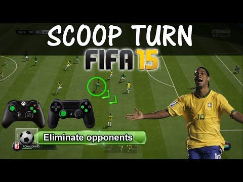 http://www.fifa-planet.com/fifa-17-tutorials/fifa-15-scoop-turn-tutorial-scoop-turn-skill-combos-tips-tricks-fut-h2h-2/ - FIFA 15 Scoop Turn Tutorial | Scoop Turn Skill Combos | Tips & Tricks - FUT & H2H  FIFA 15 Skill Move Tutorial –  Advanced Scoop Turn Skill Tutorial – Its a variation of the Fake shot (Combos). How to scoop turn quickly, how to eliminate opponents, how to scoop & shoot. The best 5 stars skill move within FIFA 15. ► Buy Cheap & Safe